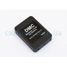 Автомобильный MP3 адаптер DMC BT+FLAC (USB поддержка Flac/iPhone/*Android/*Bluetooth/*AUX)